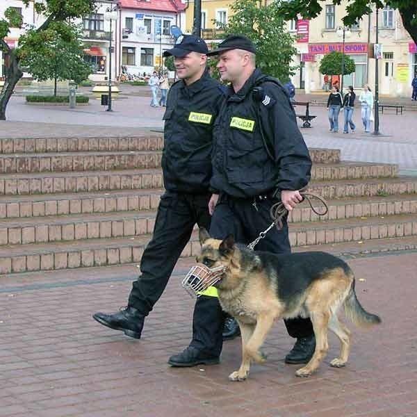 Takie patrole w Nisku to tylko marzenie.