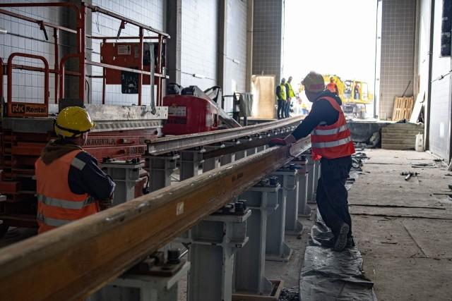 Nowoczesne zaplecze techniczne dla Kolei Wielkopolskich, które powstaje w Wągrowcu będzie gotowe jeszcze w tym roku.