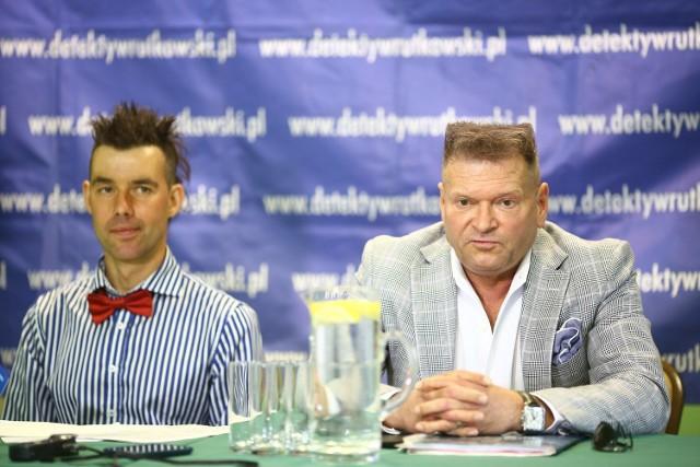W Radomiu odbyła się konferencja prasowa detektywa Krzysztofa Rutkowskiego.