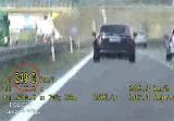 Biznesmen gnał po S3 niemal 250 km/h. Zatrzymali go policjanci z grupy speed. Mężczyzna nie mógł uwierzyć, że radiowóz go dogonił