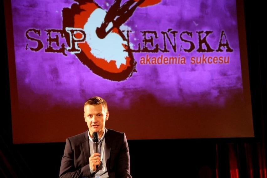 W Sępólnie gościł Marcin Mroczek.
