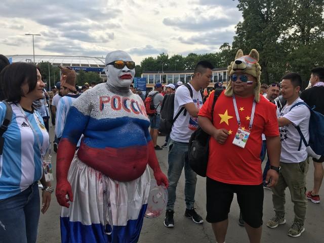 Rosjanie stworzyli podczas mundialu fantastyczną atmosferę