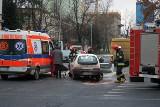 Dwoje rannych w wypadku na Sienkiewicza