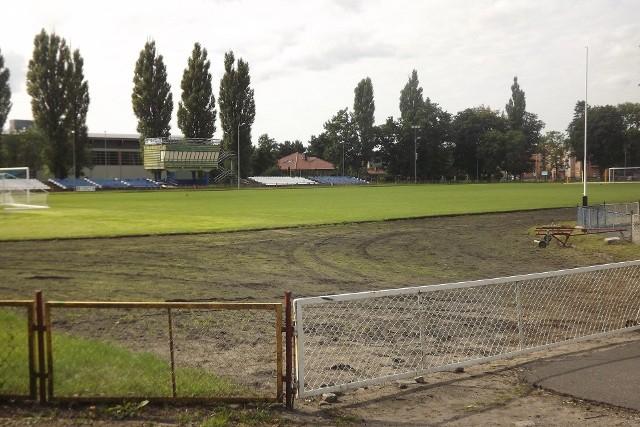 Tak obecnie wygląda stadion w Golubiu-Dobrzyniu