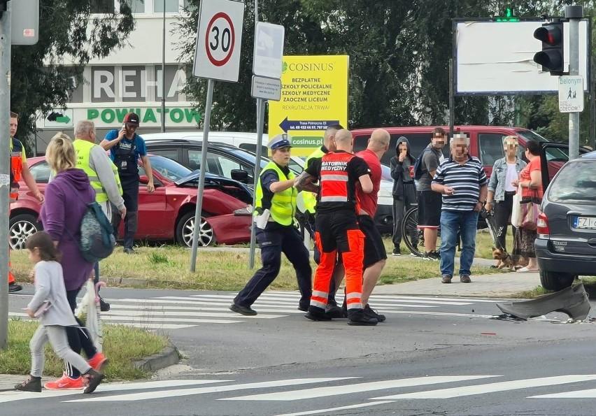 Do zielonogórskiego aresztu trafił kierowca alfy romeo,...
