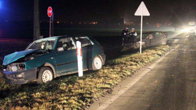 Wypadek W Strzelnie Dwie Osoby Ranne Zdjęcia Express Bydgoski