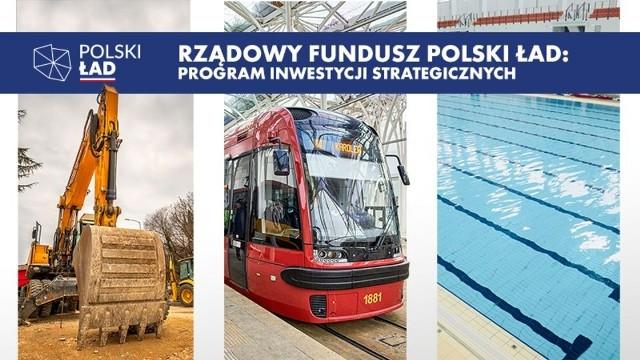 Taką grafiką Urząd Miasta Łodzi promował internetowe głosowanie w sprawie wyboru przez łodzian inwestycji realizowanych ze środków z Polskiego Ładu.