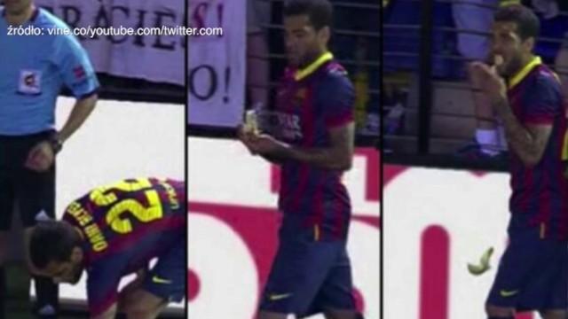 Incydent z Dani Alvesem wywołał dyskusję na temat problemu rasizmu w futbolu.