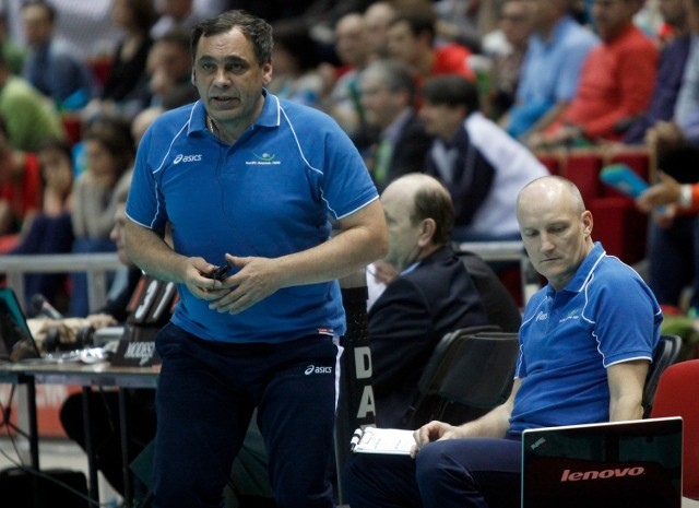 Trener Bogdan Serwiński