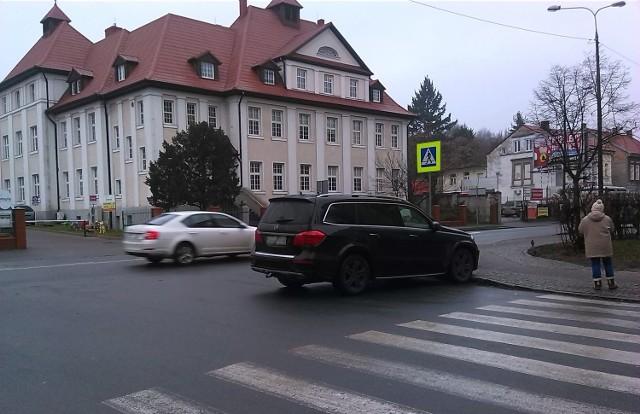 Taki widok w Gorzowie na skrzyżowaniu Kosynierów i 30 Stycznia jest dość częsty.