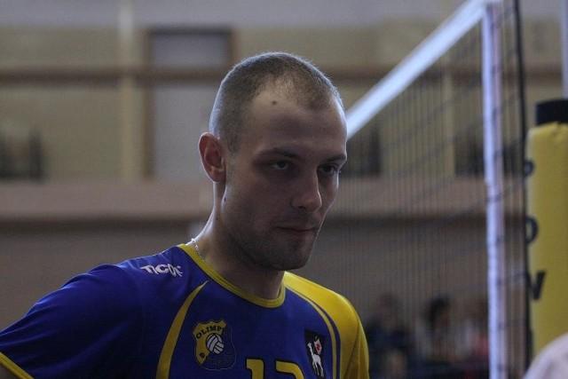 Damian Sławiak ma 26 lat. Wychowanek Olimpii Sulęcin, środkowy bloku i kapitan tej drużyny. Jest zawodowym żołnierzem w Ośrodku Szkolenia Poligonowego Wojsk Lądowych w Wędrzynie. Kawaler.