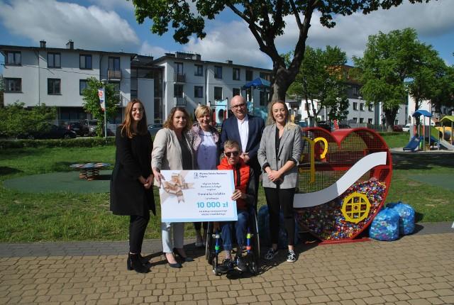Już niedługo Dominik z Rumi otrzyma nowy wózek inwalidzki. W pomoc zaangażowała się WSB Gdynia