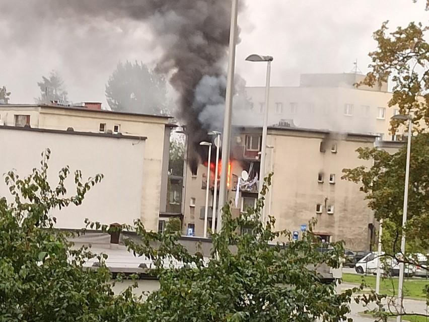 Wybuch gazu w Rybniku