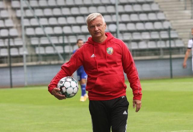 Jarosław Skrobacz nie jest już trenerem Miedzi Legnica