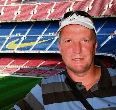 Paweł Depa na nasze stadiony raczej nie chodzi ale Camp Nou zobaczył FOT. ARCHIWUM ZAWODNIKA
