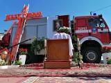 Wóz bojowy strażaków z OSP Niziny jednym z elementów ołtarza na Boże Ciało [ZDJĘCIA]