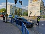 Potrącenie na ul. Bydgoskiej w Grudziądzu. 74-latek trafił do szpitala