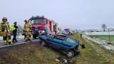Ślisko. Seria wypadków w gminie Koronowo. Czad także daje popalić [zdjęcia]