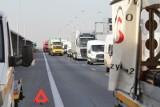 Utrudnienia drogowe na AOW i A8. Mogą potrwać nawet 9 godzin