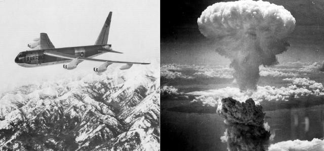 Boeing B-52B wszedł do linii w 1955 roku. Wszystkie B-52B wycofano ze służby do czerwca 1966 roku