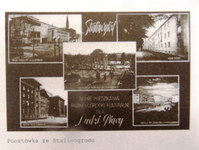 Katowice nosiły nazwę Stalinogród. Nie były jedynym