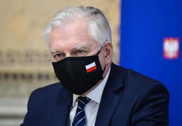 Jarosław Gowin, wicepremier, minister rozwoju, pracy i technologii.
