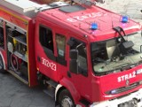 Pożar na ul. Górna Wilda w Poznaniu. Interweniowała straż pożarna, a tramwaje zmieniły trasy