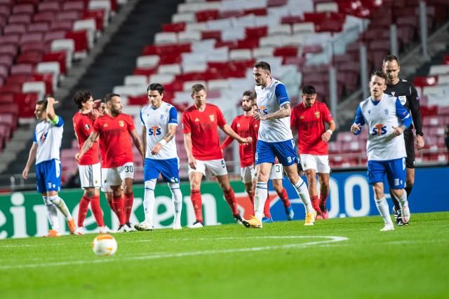 Benfica Lizbona - Lech Poznań 4:0 (1:0)