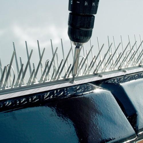 Kolce na ptakiKolce zabezpieczające przed ptakami muszą być umieszczone w miejscach widocznych dla zwierząt. Nie można montować ich w sposób, który naraża ptaki na niebezpieczeństwo.
