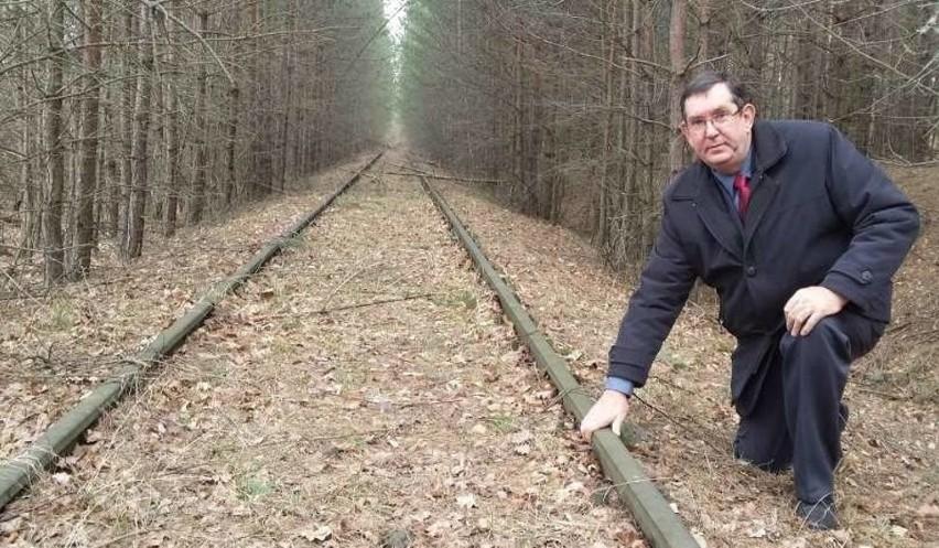 Andrzej Puławski, wójt gminy Murów o odbudowę torów walczył kilka lat. Wielu pukało się w głowę, wielu nie dowierzało, ale okazało się, że chcieć, to móc.