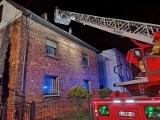 Pożar domu w Rybniku. Rodzina straciła dach nad głową