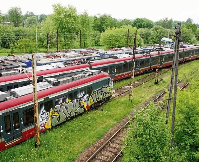 Pociągi stoją i czekają na negocjacje PKP Intercity z władzami