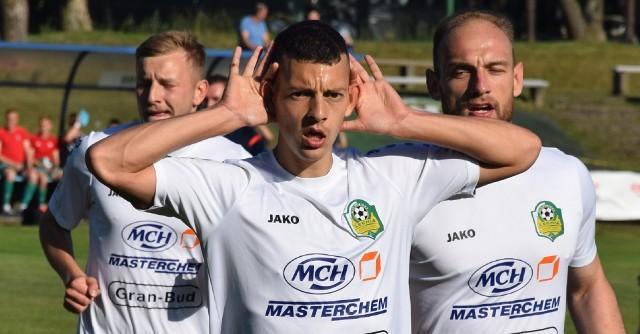 Ilan Rappoport strzelił obie bramki dla Lechii Zielona Góra w wygranym meczu z Foto Higieną Gać 2:1