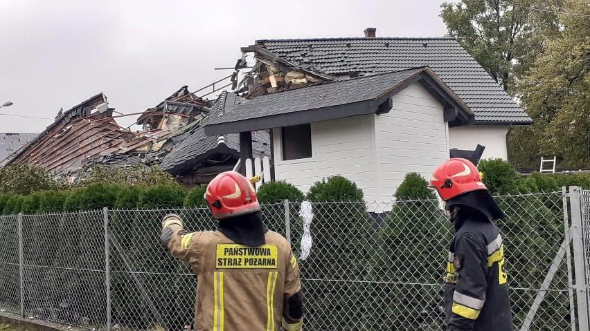 Tragiczny wybuch gazu w Kobiernicach. Trwa akcja ratunkowa...