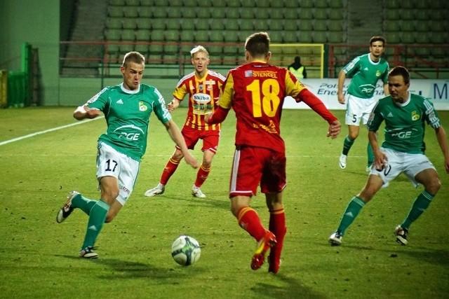 Galeria z meczu GKS Bełchatów - Chojniczanka Chojnice 1:1.
