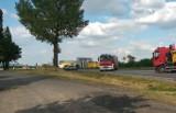 Tragiczny wypadek pod Strzegomiem. Krajowa piątka zablokowana