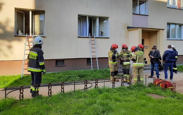 W pożarze mieszkania w Grajewie zginęła kobieta
