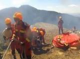 Turyści zrobili grilla. Strażacy trzeci dzień walczą z pożarem (wideo)