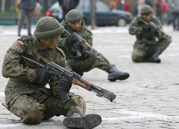Żołnierze ze słupskiej brygady.