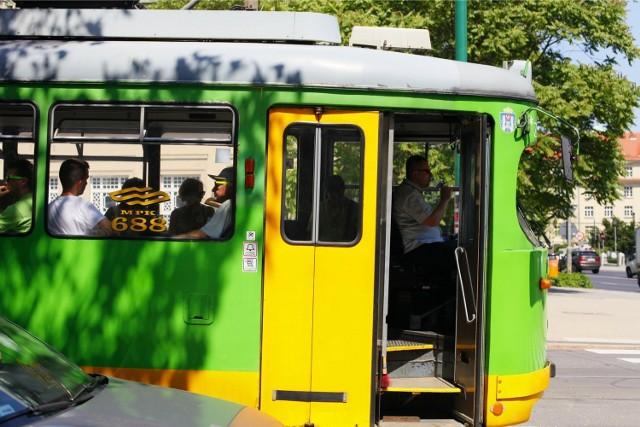 09.06.2014 poznan gd upal lato tramwaj autobus. glos wielkopolski. fot. grzegorz dembinski/polskapresse