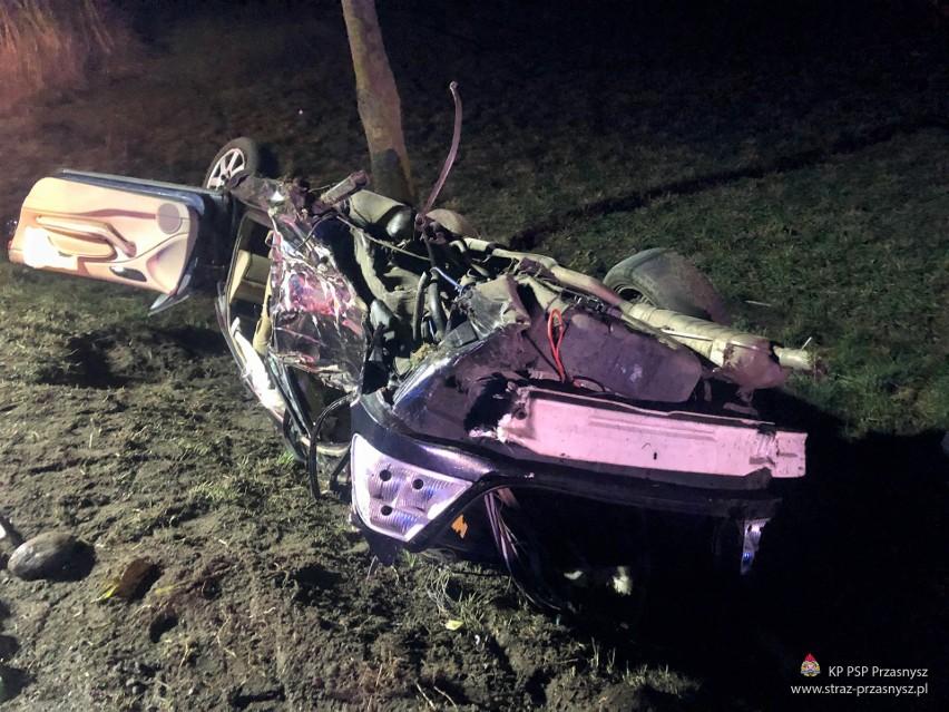 Wypadek w Przasnyszu, 8.03.2020