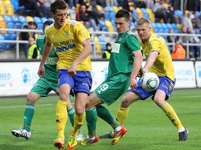 Arka Gdynia nie zdobyła bramki w trzech ostatnich meczach
