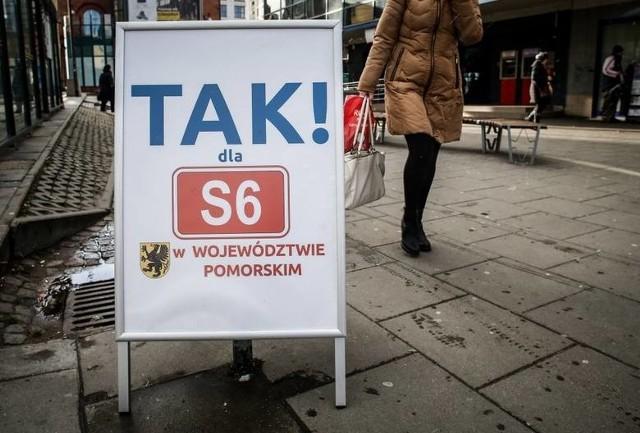 W Gdańsku zbierali podpisy pod petycją w sprawie budowy drogi S6