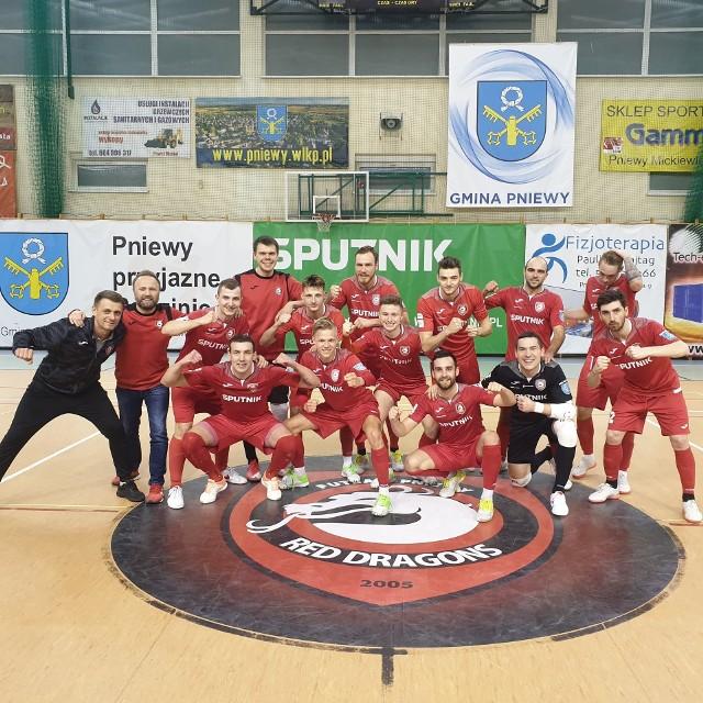 Dla Red Dragons Pniewy awans do półfinału krajowego pucharu to wyrównanie historycznego wyniku z sezonu 2017/18. O awansie do finału zadecyduje dwumecz.