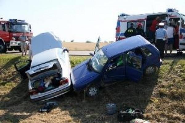 Wypadek w Borkach, k. Radzynia Podlaskiego