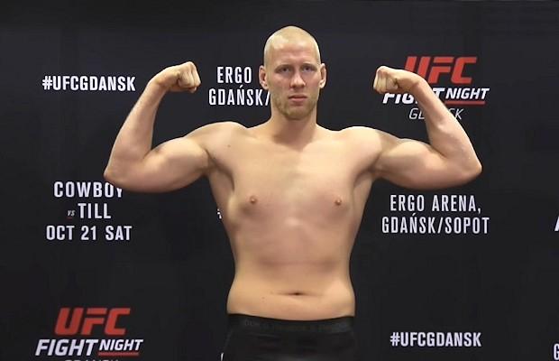 Chorzowianin Adam Wieczorek miał walczyć na gdańskiej gali UFC