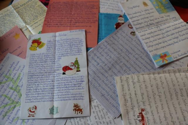 Każdy z listów był starannie napisany i piękny w treści