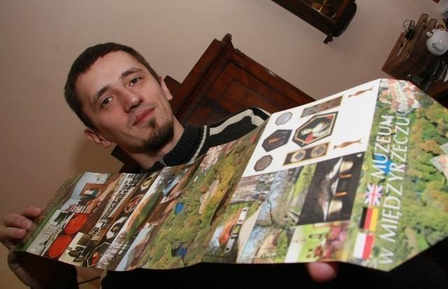 - Seria pocztówek promuje nasze muzeum - mówi Łukasz Bednaruk, pracownik muzeum.