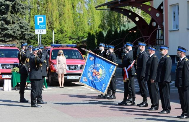 Obchody Dnia Strażaka w Komendzie Miejskiej PSP w Toruniu