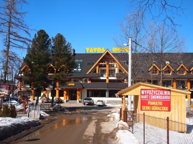 Hotel Tatra na zakopiańskiej Cyrhli już działa legalnie